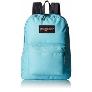 JanSport SuperBreak Blue Topaz School Backpack